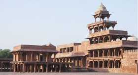 Fatehpur Sikri is a UNESCO World Heritage site in Agra